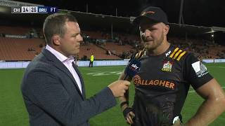 | SuperSport | Super Rugby | Chiefs v Brumbies | Post-match interview with Sam Cane