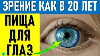 Как вернуть молодость Глазам и Улучшить Зрение: Витамины Для Глаз и натуральные вещества