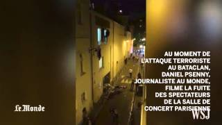 France Attacks: Dramatic Footage From Concert Hall