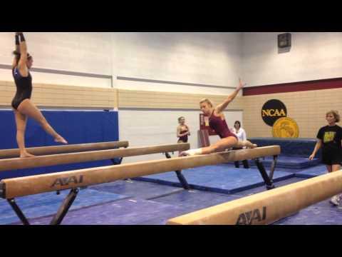 Gopher Women s Gymnastics - Practice (Nov. 25 aee32b3a9