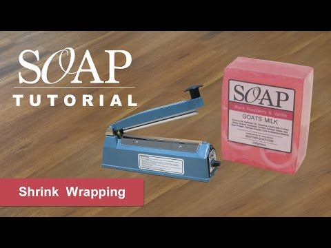 Soap Shrink Wrapping Melt And Pour Soap