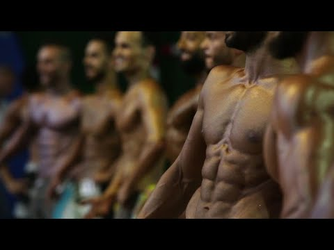 Syria: national bodybuilding championship in Damascus