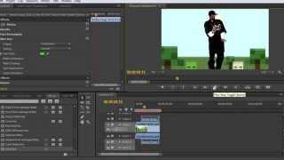 Snoop Dogg на хромакее ( как убрать хромакей - фон ) в Adobe Premiere Pro cs-6