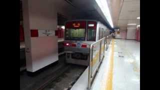 大邱都市鉄道1号線1000系電車走行音 七星市場から半月堂まで