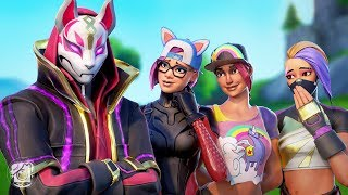 DRIFT GETS A FAN CLUB OF GIRLS?! 'SEASON X' (Un court métrage Fortnite)