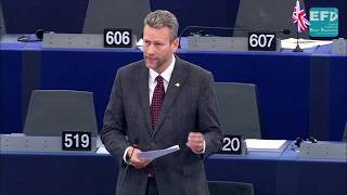 Securing your nation's border is common sense - Nathan GILL MEP