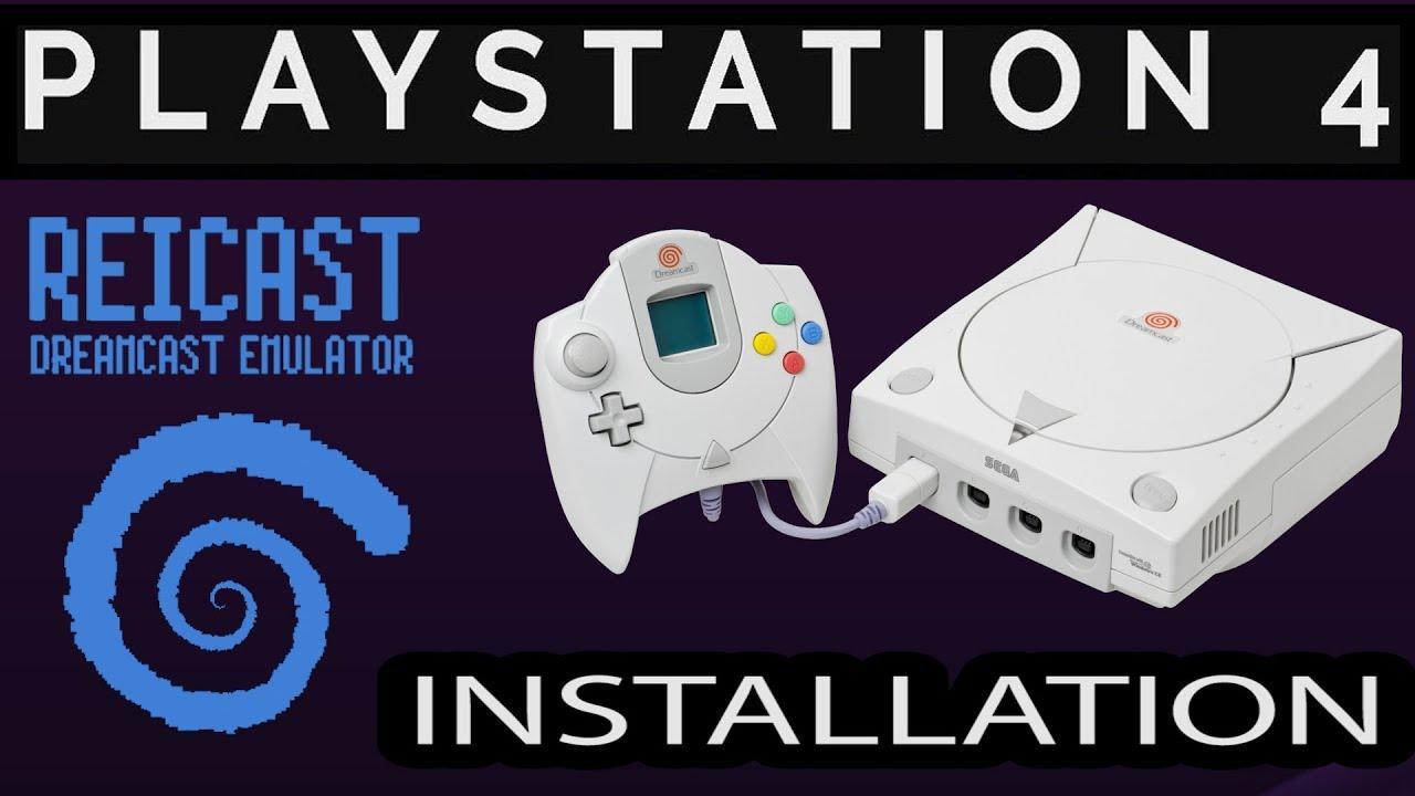 Reicast Sega Dreamcast Emulator PS4 Port in Development