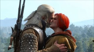 Witcher 3 Full Triss Merigold Romance (All Scenes)