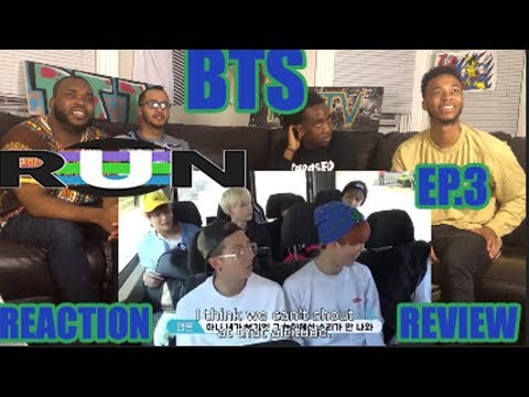 BTS RUN EP. 3 REACTION/REVIEW