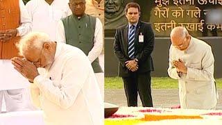 Atal Bihari Vajpayee death anniversary: President, PM Modi pay tribute