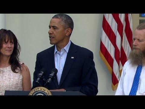 President Obama address Sgt. Bergdahl release