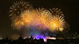 Новогодний салют в Лондоне(Англия) 2015