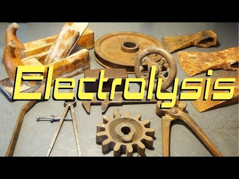 Rust Removal Experiments: Electrolysis
