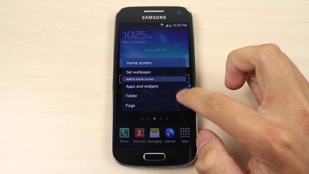 How To Change The Home Screen And Lock Wallpaper On Samsung Galaxy S4 Mini