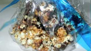 Moose Munch Recipe - Delicious Caramel Corn With Chocolate And Nuts