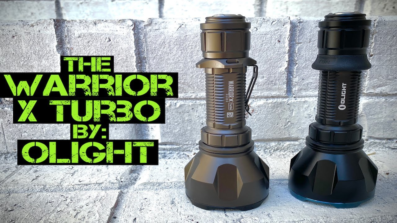 OLIGHT Warrior X Turbo