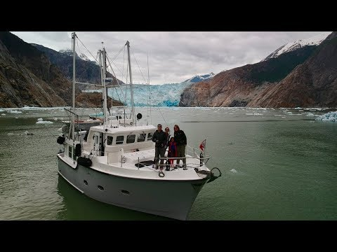 Exploring Tracy Arm and the Sawyer Glaciers in Southeast Alaska - Nordhavn 40, M/V Cassidy, Ep. 6