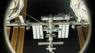 STS-131: Discovery Rendezvous and Docking (time lapse)