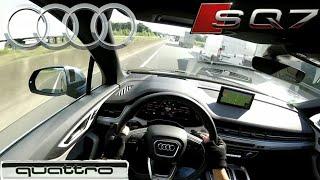 #7 Let's Test Drive: Audi SQ7 4.0 TDI (435 PS) POV drive Highway run