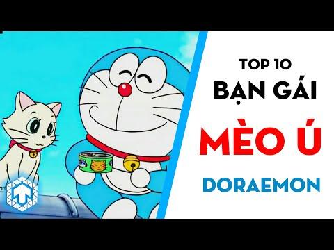 Doremon NGOẠI TÌNH??? 10 Cô Mèo Toẹt Vời Của Doraemon   Doraemon   Ten Anime