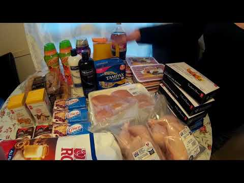 Canadian Coupon Grocery Haul #3