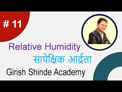 Relative Humidity in Hindi  (LMTI)