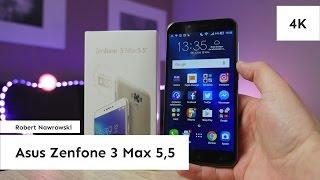 Asus Zenfone 3 Max 5,5 Recenzja [Konkurs] | Robert Nawrowski