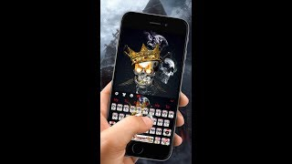Similar Apps to Cool Graffiti Skull Keyboard Theme Suggestions