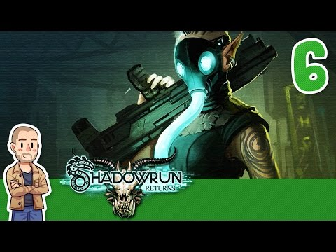 Shadowrun Returns Playthrough Part 6 - The Penthouse Suite - Let's Play Gameplay Walkthrough