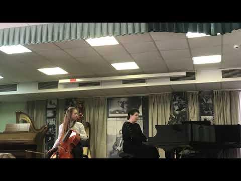 А.Дворжак «Мелодия», А.Айвазян «Грузинский танец».