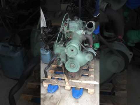 Заводка и робота двигателя Mercedes REX. Двигатель ОМ 364. 4.0 дизель 92 года.