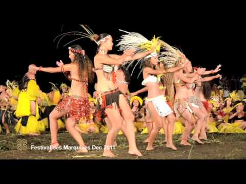 Aranui - Marquesas Art and Dance Festival - Dec 2011 - part 1