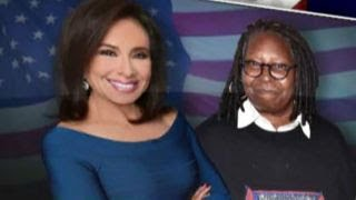 Judge Pirro, Whoopi Goldberg get into s...