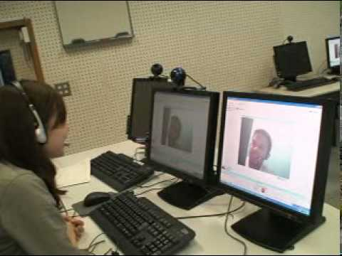 www.myskypenglish.com  Skype video chat Japanese girl student  & a Filipino2008 1