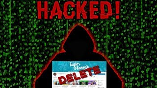 A HACKER STOLE OUR CHANNEL IRL || Taylor and Vanessa
