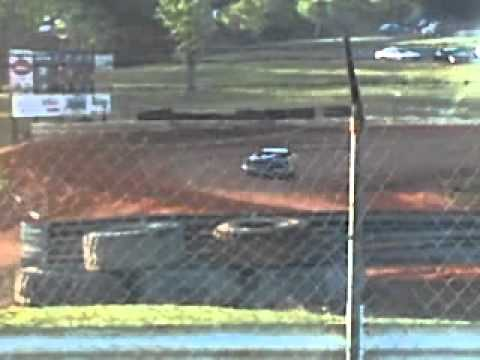 late model hot laps crash at natural bridge speedway 4 30 2011