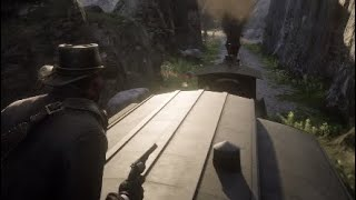 Red Dead Redemption 2: Funny Moments [Train Heist]