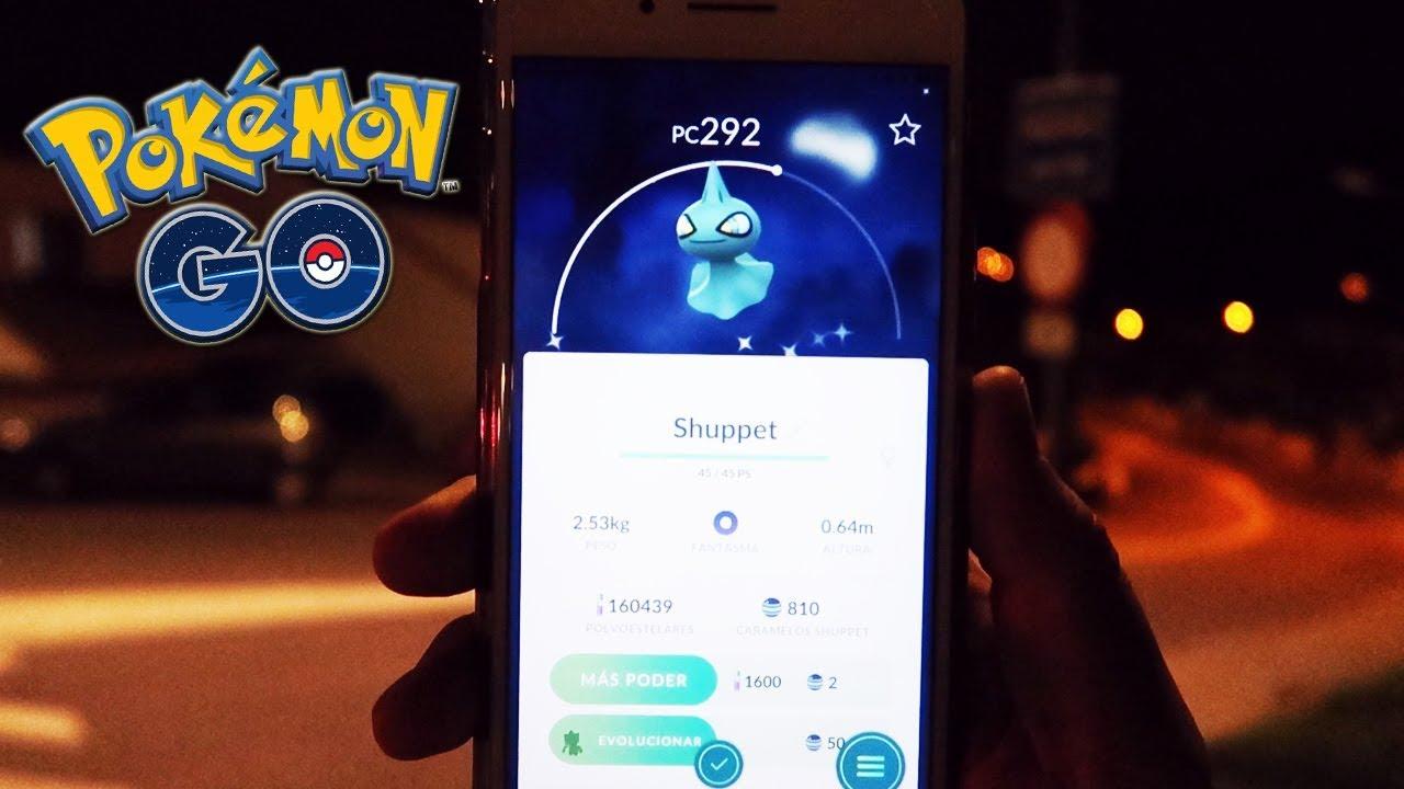 Shiny shuppet pokemon go