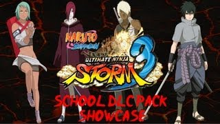 Naruto Ultimate Ninja Storm 3: School Uniform Pack Showcase