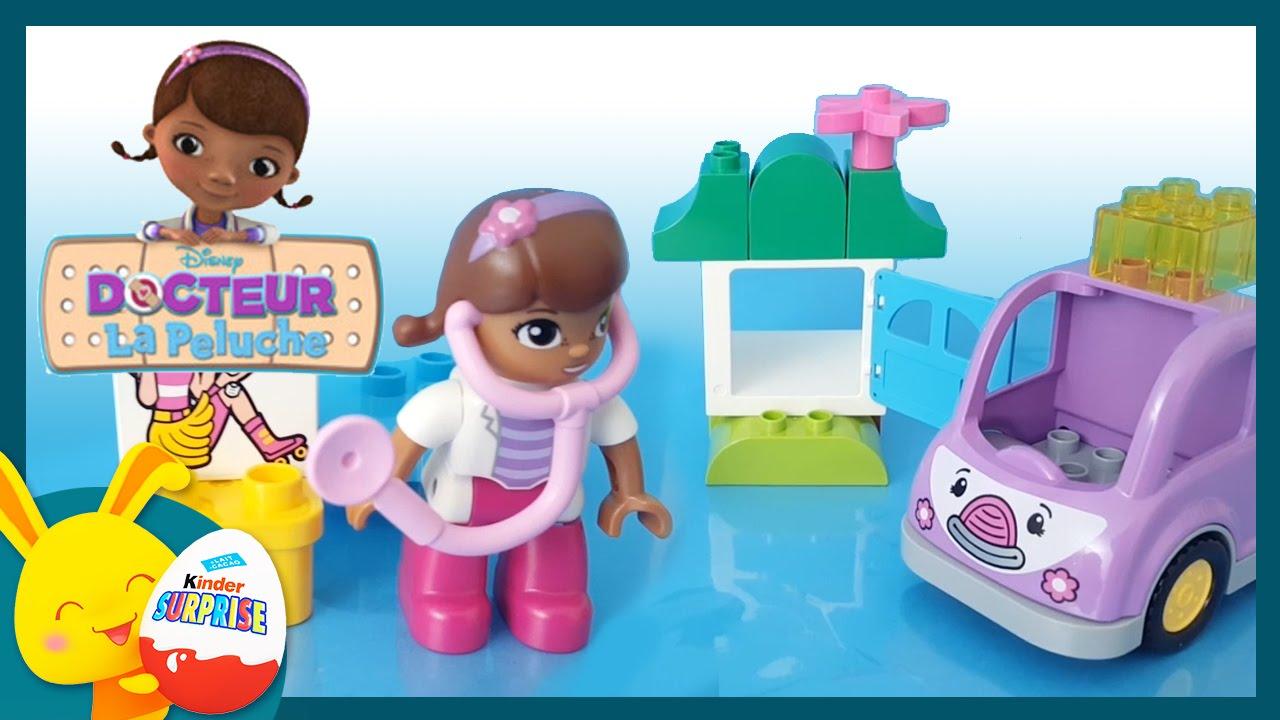 docteur la peluche lego duplo jouet pour enfants titounis touni toys youtube. Black Bedroom Furniture Sets. Home Design Ideas