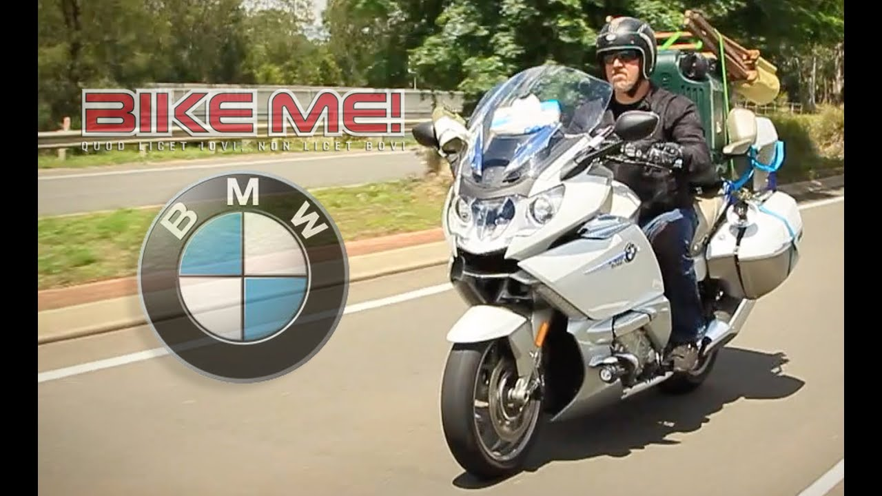 bmw k 1600 gtl exclusive - bike me! - youtube