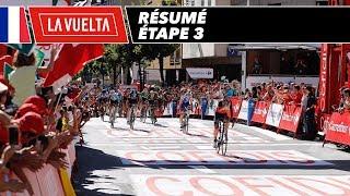 Résumé - Étape 3 - La Vuelta 2017