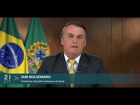 Mensagem - BIF 2021 - Jair Bolsonaro, Presidente do Brasil