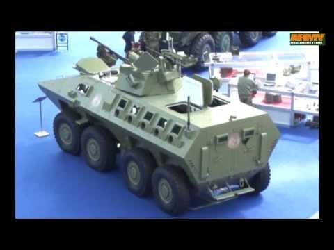 Lazar 2 MRAV MRAP 8x8 Multi Purpose armoured vehicle YugoImport Serbia defense industry