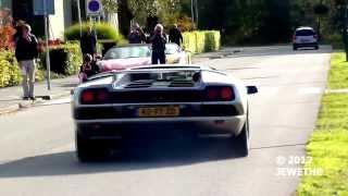 Lamborghini Diablo VT Start-up and Acceleration sound - Auto Italia 2012 (1080p Full HD)