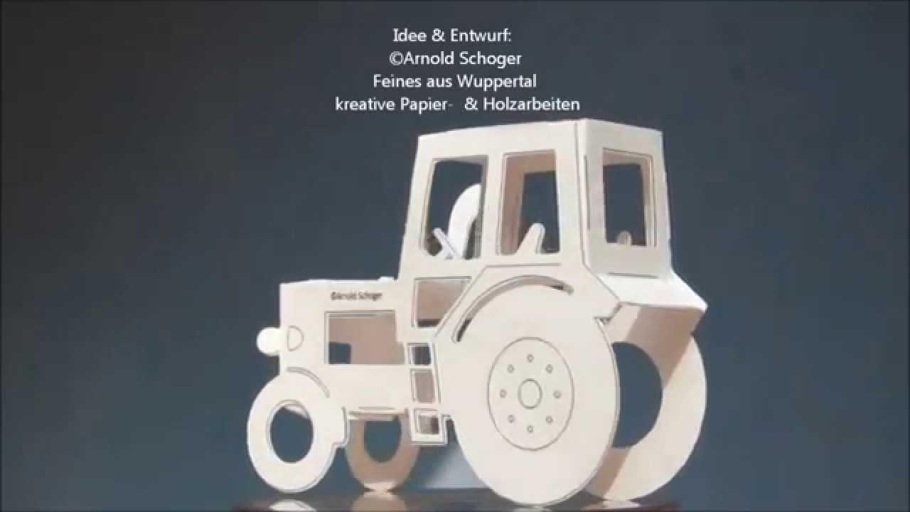 Papier Weinbergtraktor Weinberg Traktor Aus Papier Youtube