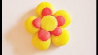 How To Make Clay Flower, Flower Tutorial | Clay Flower | Easy Clay Flower | Clay Flower Making |