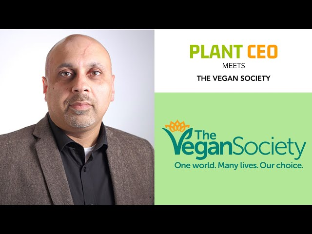 PLANT CEO #25 - George Gill CEO of The Vegan Society