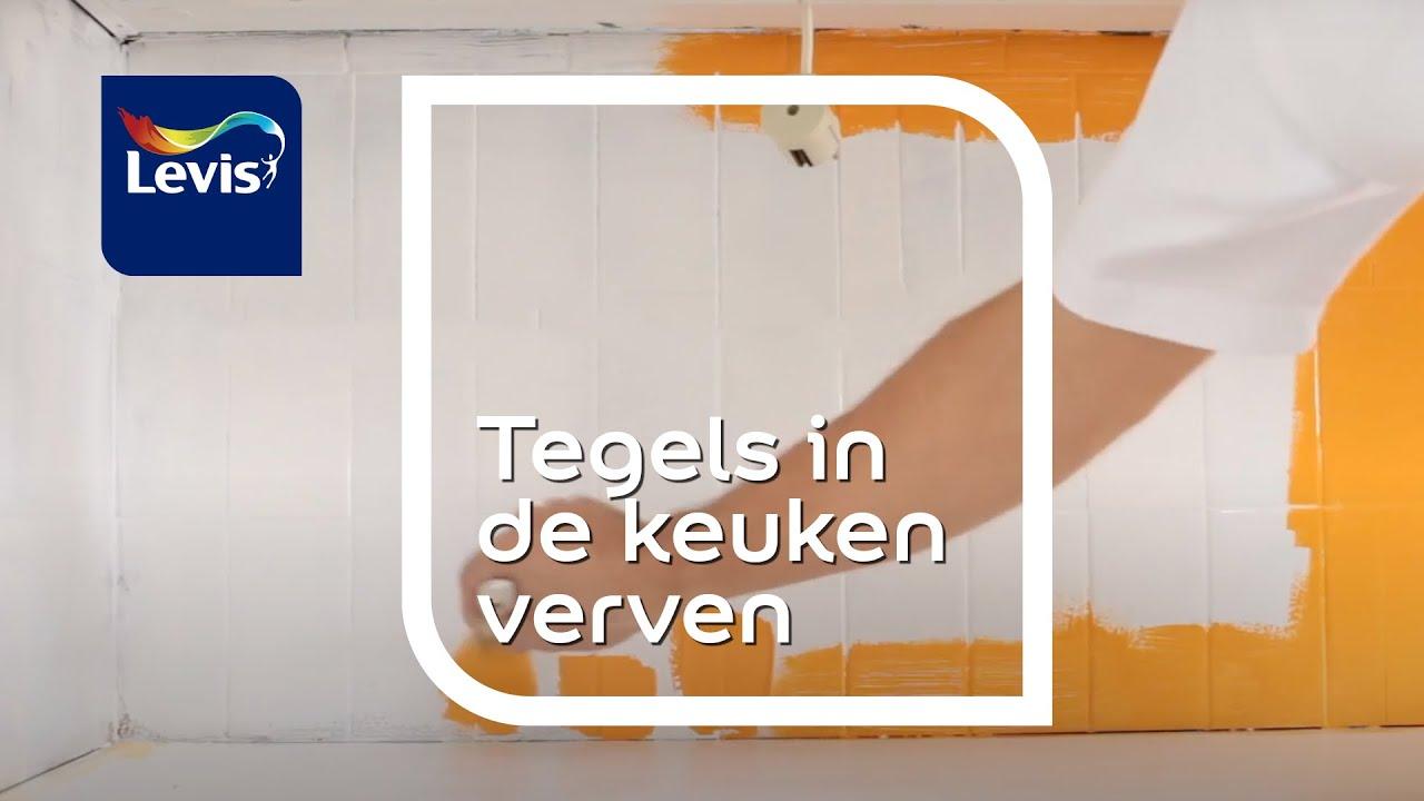 Keuken Tegels Verven : Hoe tegels verven levis youtube