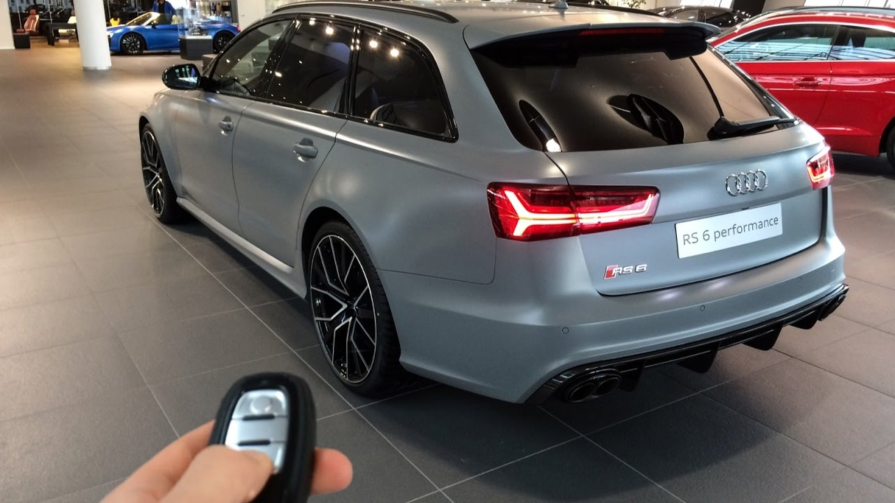 Audi RS6 Performance Nardo Grey Matte Audi Exclusive: In Depth, Interior,  Details, Engine and more